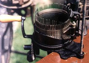 Cooperative Knitting Machine